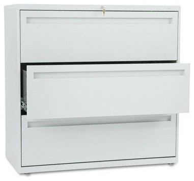700 Series Three-Drawer Lateral File, 42w x 19-1/4d, Light Gray modern-home-office-products