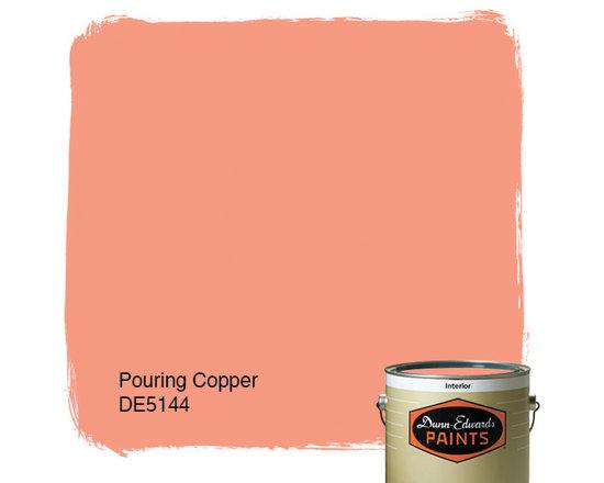 Dunn-Edwards Paints Pouring Copper DE5144 -