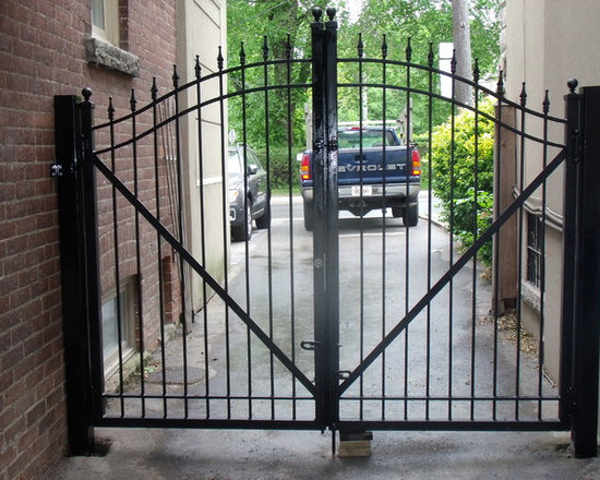 Variety of Iron Gate Designs - Omega Iron Works and Railings