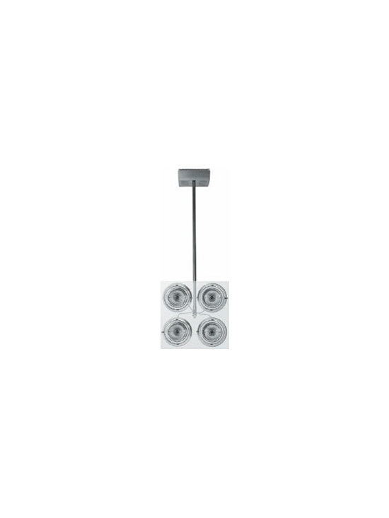 Hertz Spot Light By Flos Lighting - The Herz from Flos are very low-tension lamps. Rosette, rod and support for wall/ceiling in die-cast polished liquid transparent varnished aluminum.