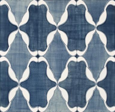 Perennial Ceramic Art Tile - Ann Sacks Tile & Stone eclectic-tile