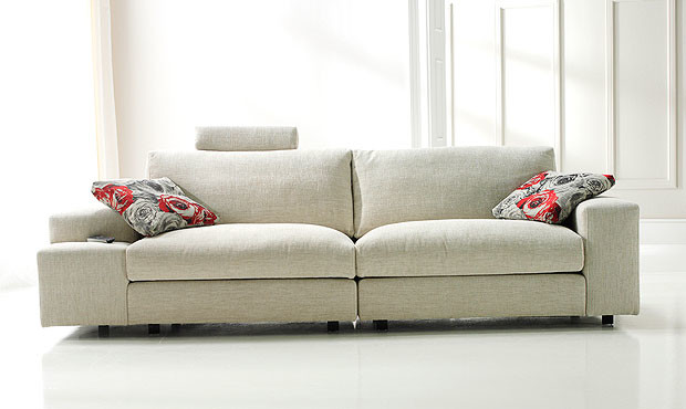 Carla 3 Seater Sofa Modern Sofas London By