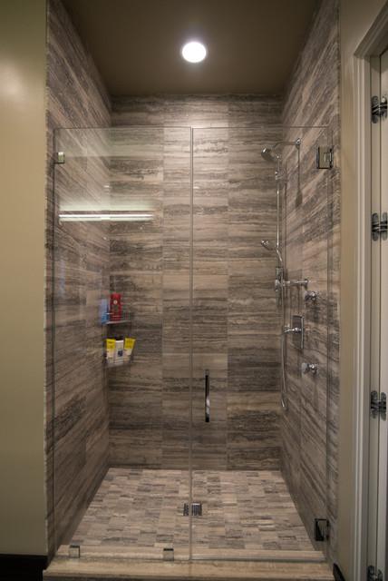 True Frameless Shower Enclosures contemporary-showers