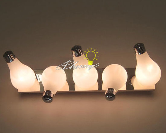 Bulb Wall Sconce - Lights:2,3,4,5