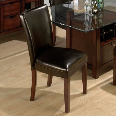 Jofran Chelsea Chestnut Dining Chair - 2 Chairs modern-dining-chairs