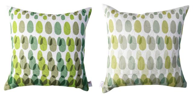 ModPod Pillow - Lime Green tropical-decorative-pillows