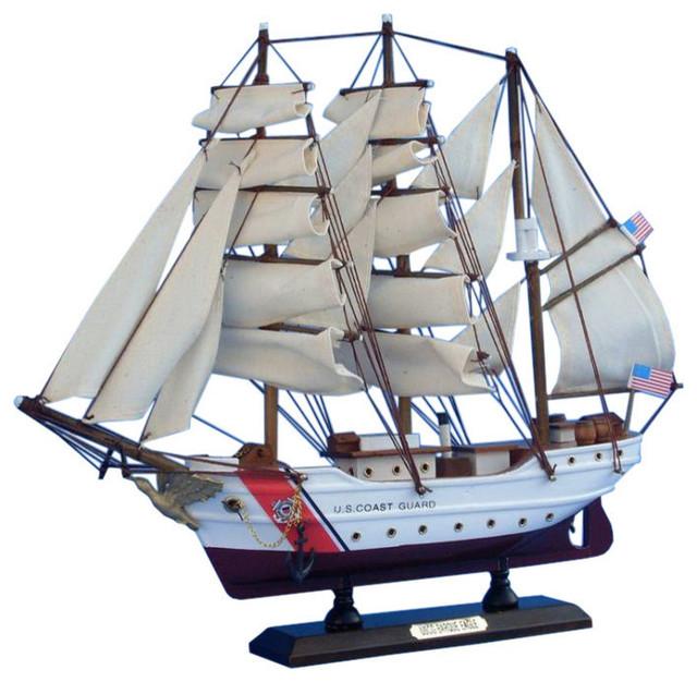 uscg eagle 15 quot wooden model coast guard boat