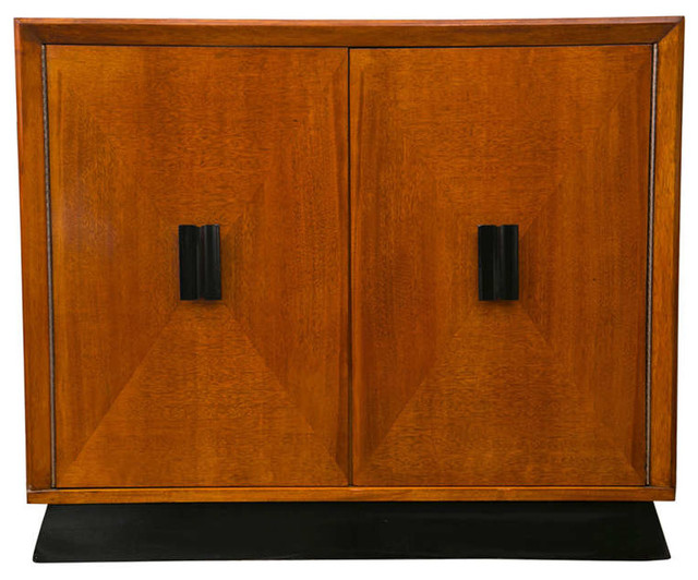 Art Deco Style Cabinet Bar Transitional Cabinet And