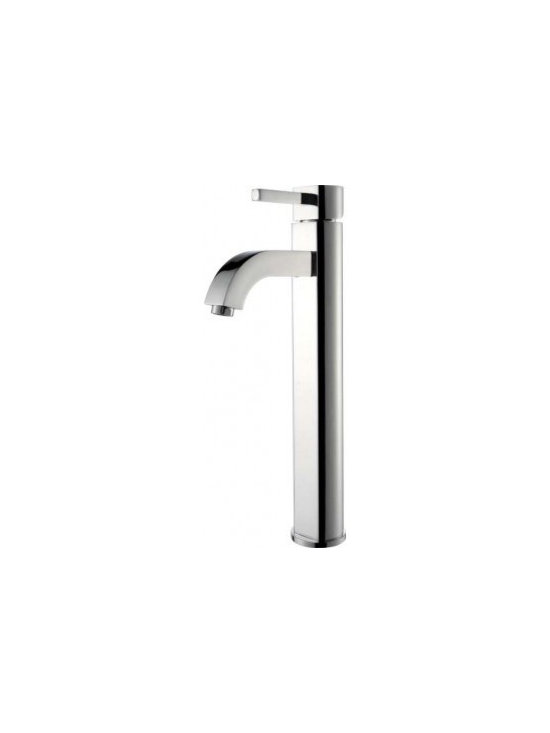 Kraus Ramus Single Lever Vessel Faucet FVS-1007 - Add a touch of elegance to your bathroom with a vessel sink faucet from Kraus
