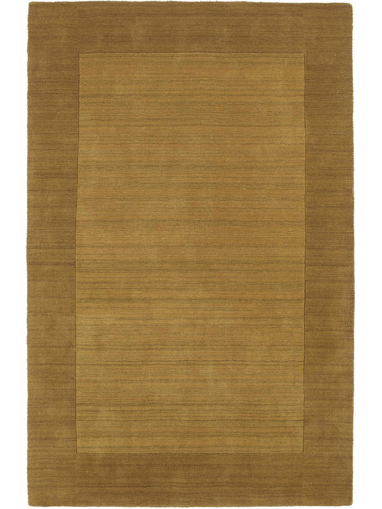 """Kaleen - Kaleen Regency Regency (Yellow) 3'6"""" x 5'3"""" Rug - Regency offers an array of fourteen beautifully elegant subtle tones for today's casual lifestyles. Choose from rich timeless hues shaded with evidence of light brush strokes. These 100% virgin wool, hand loomed rugs are sure to add comfort and warmth to any setting. Hand crafted in India."""