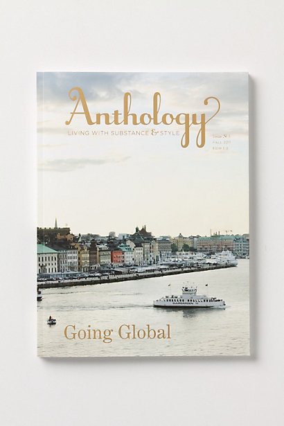 Anthology Magazine, Issue 5 modern books