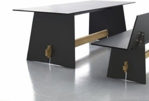 Conmoto | Tension Table modern-outdoor-dining-tables