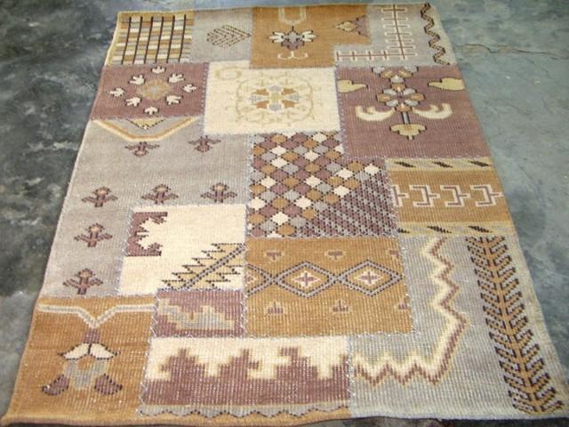 WOOLEN PATCH WORK traditional-carpet-tiles