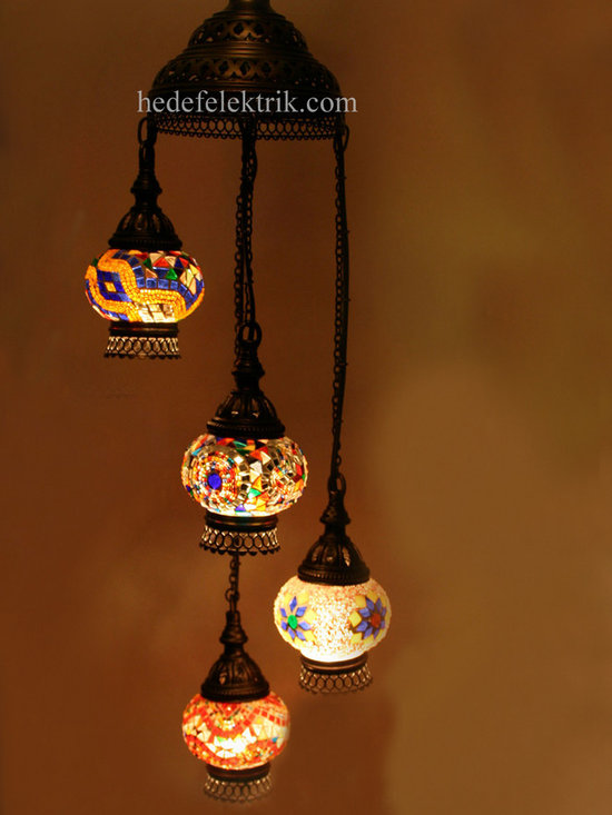 Turkish Style - Mosaic Lighting - Code: HD-04160_51