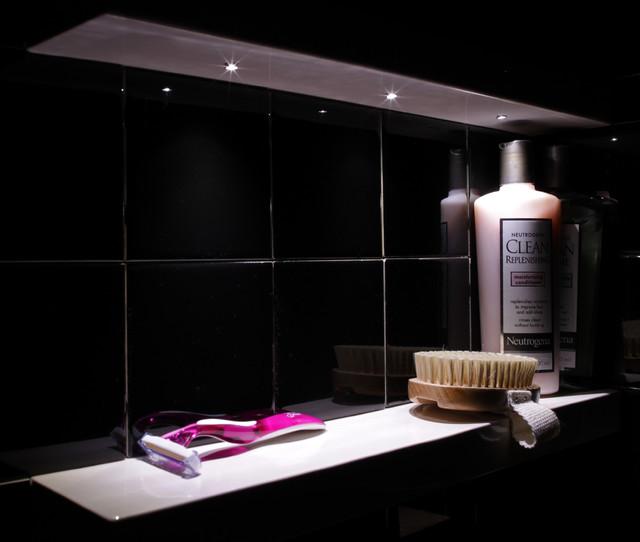 Modern Bathroom Shower Shelf Ideas Dc Metro