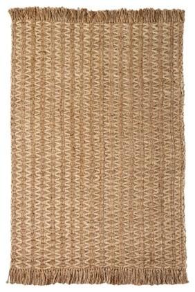 Nate Berkus Diamond Jute Rug, Brown contemporary-rugs