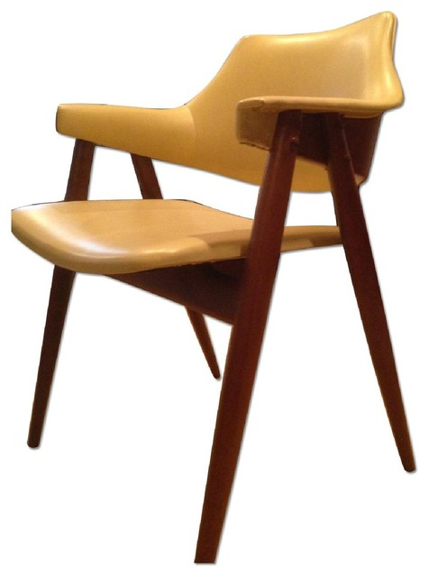 Danish modern walnut dining chairs - Mid Century Modern Vintage 1960 S Thonet Dining Chairs Set