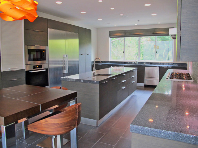 Beverly Hills, CA contemporary-kitchen