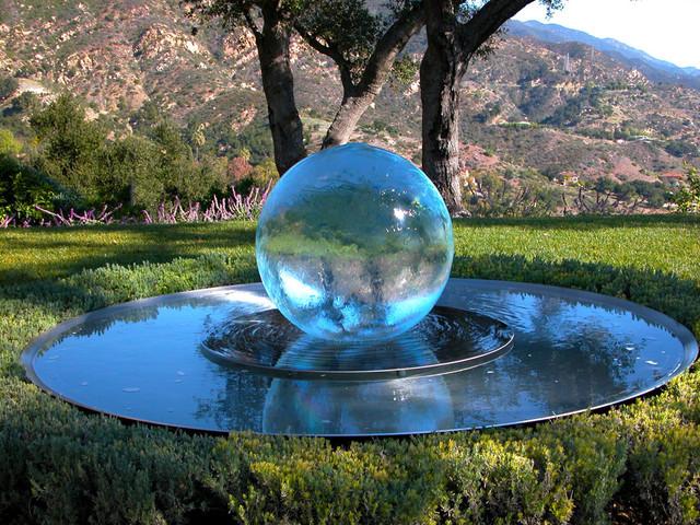 My Garden In Santa Barbara Modern Outdoor Fountains