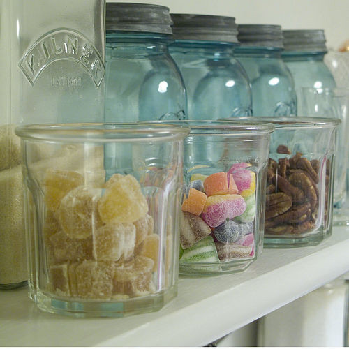 Vintage French Jam Jar traditional-food-containers-and-storage