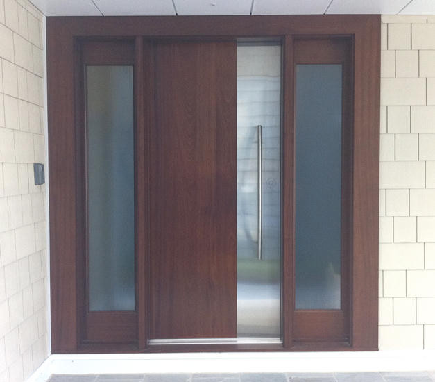 Ervin contemporary front doors other metro by for Modern exterior doors