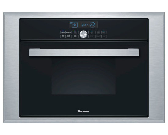 "Thermador 24"" Single Combination Steam/convection Wall Oven Stainless 