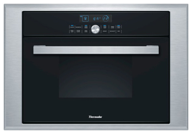 """Thermador 24"""" Single Combination Steam/convection Wall Oven Stainless 