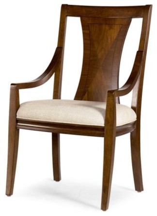 American Drew Essex Dining Arm Chairs - Set of 2 contemporary dining chairs and benches