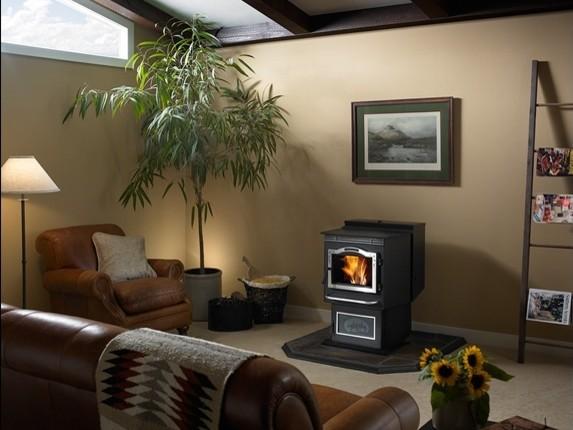 Harman PC45 Pellet Stove indoor-fireplaces