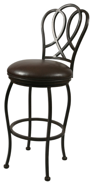 ... Swivel Barstool With Arms traditional-bar-stools-and-counter-stools