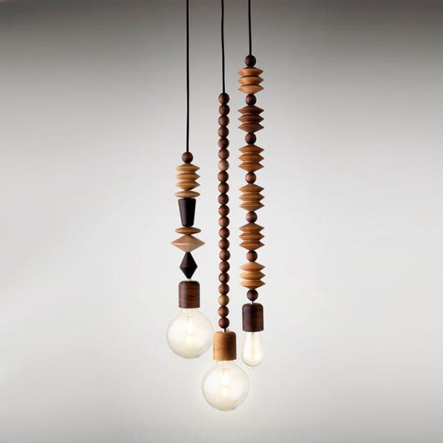 bright beads cluster pendant lighting contemporary