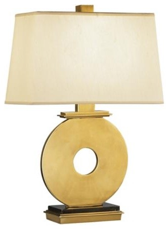 Robert Abbey Antique Brass O Table Lamp contemporary-table-lamps