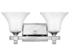 Hinkley Lighting 5852CM Abbie Chrome 2 Light Vanity traditional-bathroom-lighting-and-vanity-lighting