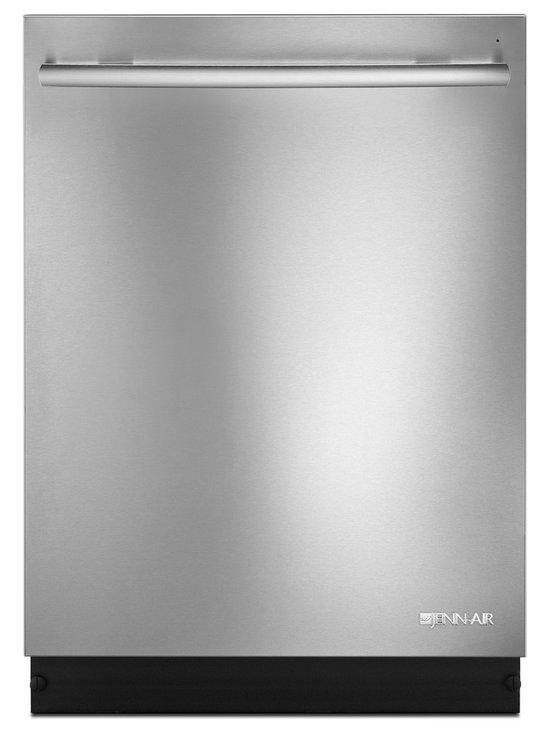"Jenn-Air 24"" Trifecta Dishwasher, Stainless Steel | JDB8200AWS - ENERGY STAR Qualified, TriFecta Wash System, 46 dBA Quiet System, UltraGlide Upper Rack."