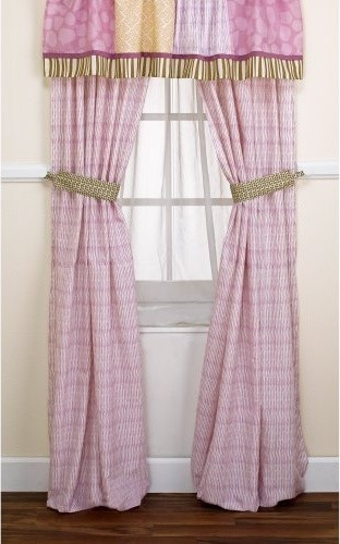 CoCaLo Jacana Drapes - 2 Panel with Tie Backs - contemporary