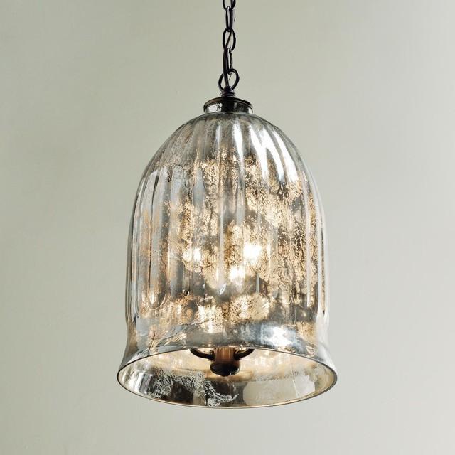 antique mirror bell pendant lantern outdoor hanging. Black Bedroom Furniture Sets. Home Design Ideas