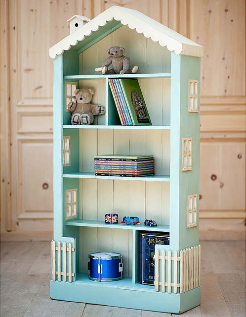 Alices Tall Dollhouse Bookcase - Traditional - Kids Bookcases - other ...