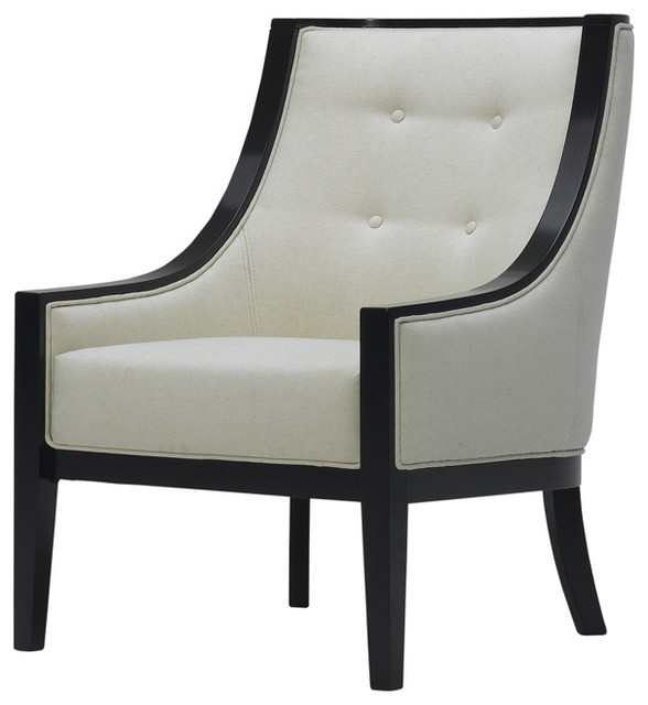 Stanley accent chair contemporary armchairs and accent for Modern armchair