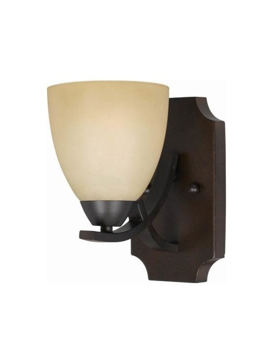 Triarch International - Triarch 33240/1 Value Series English Bronze Wall Sconce - Triarch 33240/1 Value Series English Bronze Wall Sconce