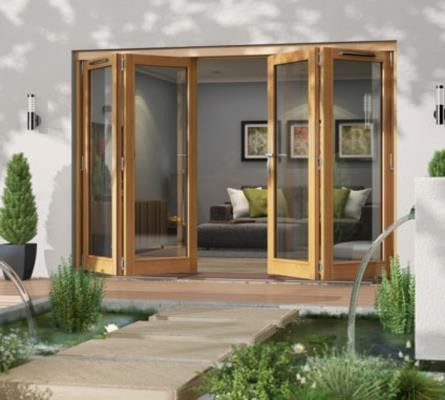 Canberra Folding Sliding 4 Door Patio Doors Modern By