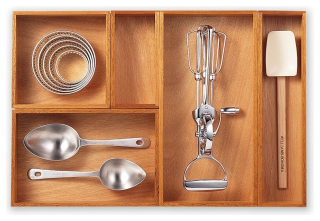 Modular Drawer Organizers traditional-kitchen-drawer-organizers