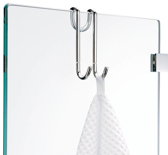 Harmony Hang Up Hook for Shower Cabins in Chrome - Contemporary - Towel Bars And Hooks - by Modo ...