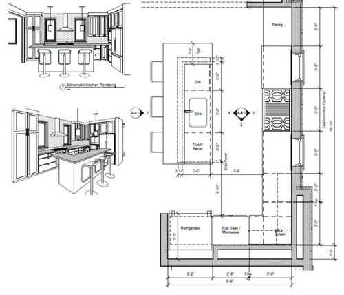 Help / Opninon With Kitchen Layout