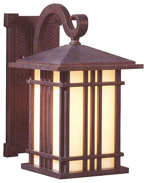 Outdoor Lighting Fixtures Arts And Crafts Arts And Crafts Mission Prairie House Collection 11 1 2 High Outdoor