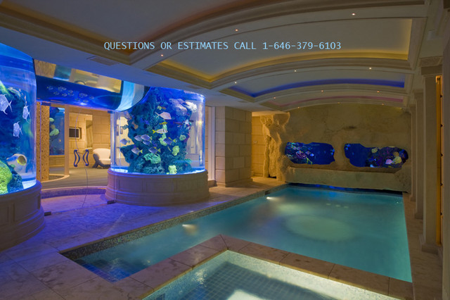 Aquarium Pool Old Westbury Ny Manhattan Indoor Luxury