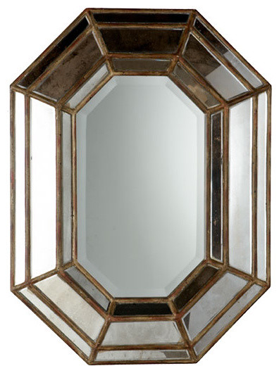 Italian octagon mirror traditional by wisteria
