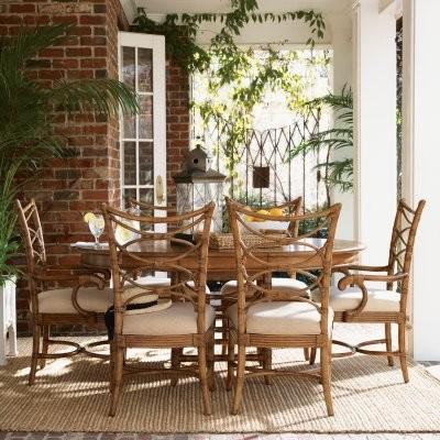 Tommy Bahama by Lexington Home Brands Beach House 7 Piece Coconut Grove Dining S modern-dining-tables