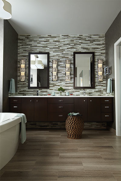 Lighting Ideas - traditional - bathroom lighting and vanity ...