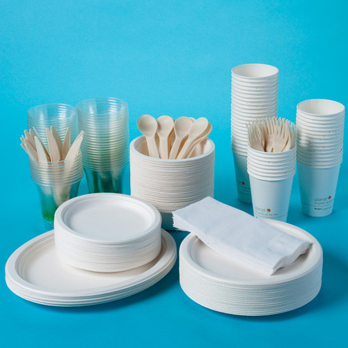 Compostable Party Kit dinnerware