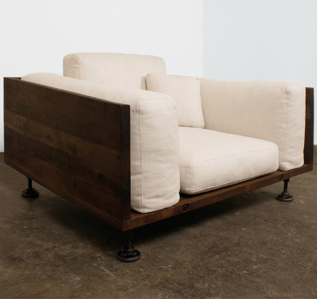 Industrial loft industrial sofas other metro by for Sofa industrial